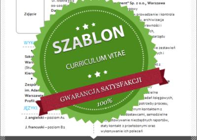 Szablon - 01 - CV - blue