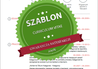 Szablon - 05 - CV - red