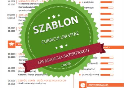Szablon - 07 - CV - orange