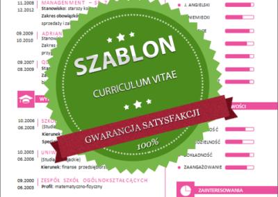 Szablon - 07 - CV - pink